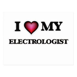 I love my Electrologist Postcard