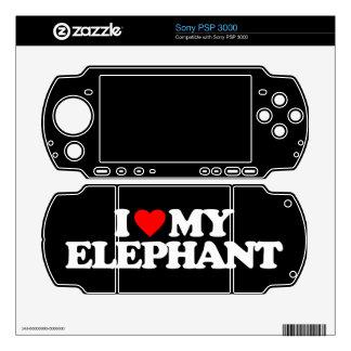 I LOVE MY ELEPHANT SKIN FOR THE PSP 3000