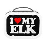 I LOVE MY ELK LUNCHBOX
