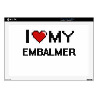 "I love my Embalmer 17"" Laptop Skin"