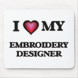 I love my Embroidery Designer Mouse Pad
