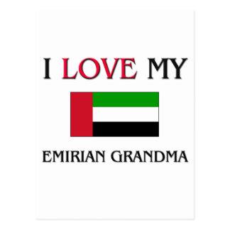 I Love My Emirian Grandma Postcard
