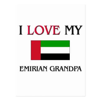 I Love My Emirian Grandpa Postcard