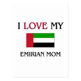 I Love My Emirian Mom Postcard