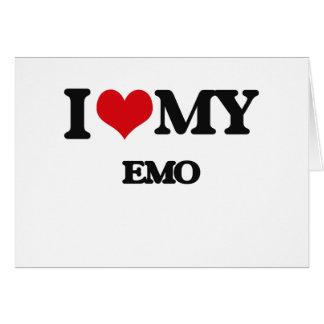 I Love My EMO Card