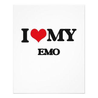 I Love My EMO Custom Flyer