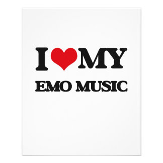 I Love My EMO MUSIC Flyer