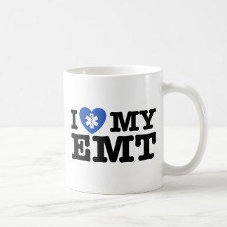 I Love My EMT Coffee Mug