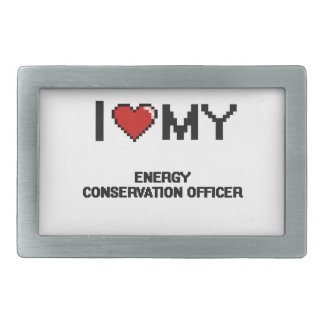 I love my Energy Conservation Officer Belt Buckle