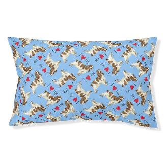 I Love my English Cocker Spaniel Dog Bed