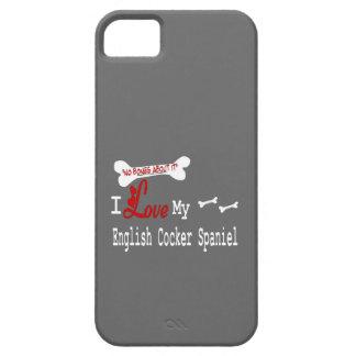 I Love My English Cocker Spaniel iPhone SE/5/5s Case