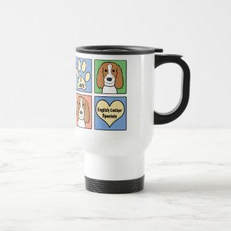 I Love My English Cocker Spaniel Travel Mug