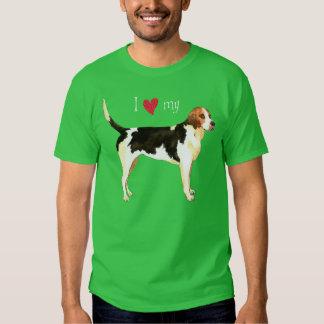 I Love my English Foxhound T-Shirt