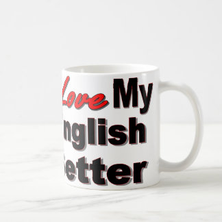 I Love My English Setter Mug
