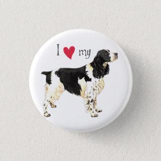I Love my English Springer Spaniel Button