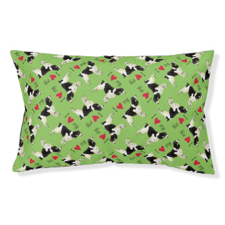 I Love my English Springer Spaniel Dog Bed