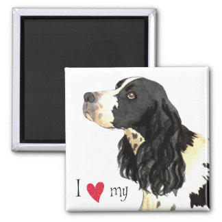 I Love my English Springer Spaniel Magnet