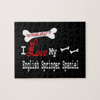 I Love My English Springer Spaniel Jigsaw Puzzles