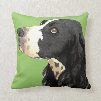 I Love my English Springer Spaniel Throw Pillow