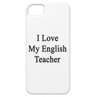 I Love My English Teacher iPhone 5 Case
