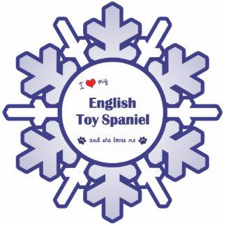 I Love My English Toy Spaniel (Female Dog) Cutout