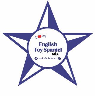 I Love My English Toy Spaniel Mix (Female Dog) Statuette