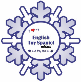 I Love My English Toy Spaniel Mixes (Multi Dogs) Statuette