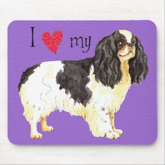 I Love my English Toy Spaniel Mouse Pad