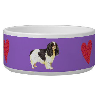 I Love my English Toy Spaniel Pet Bowl