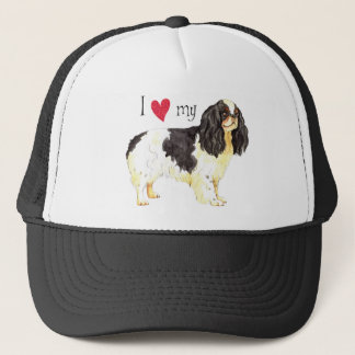 I Love my English Toy Spaniel Trucker Hat