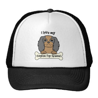 I Love My English Toy Spaniel Trucker Hat