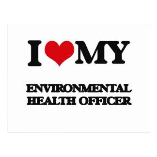 I love my Environmental Health Officer Postcard