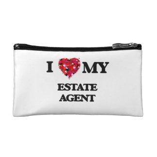 I love my Estate Agent Cosmetic Bag