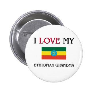 I Love My Ethiopian Grandma Pinback Button