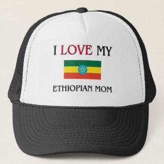 I Love My Ethiopian Mom Trucker Hat