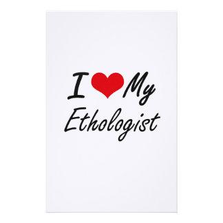 I love my Ethologist Stationery