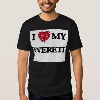 I Love MY Everett T-shirts
