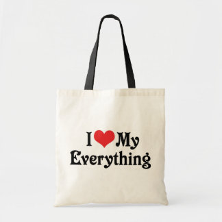 I Love My Everything Tote Bag