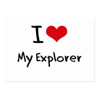 I love My Explorer Business Cards