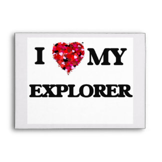 I love my Explorer Envelopes