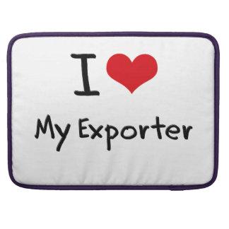 I love My Exporter MacBook Pro Sleeve