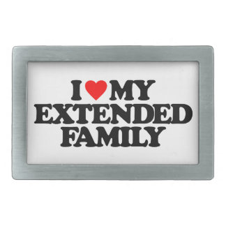 I LOVE MY EXTENDED FAMILY BELT BUCKLES