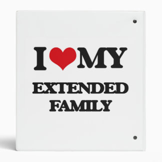 I love my Extended Family Binders