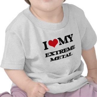I Love My EXTREME METAL T Shirts