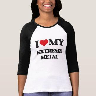 I Love My EXTREME METAL T-shirts