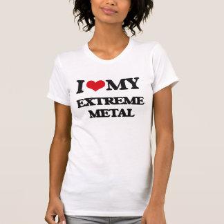 I Love My EXTREME METAL Tee Shirts