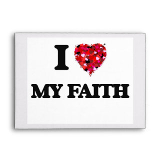 I Love My Faith Envelope