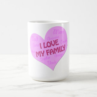 I love my Family Coffee Mug