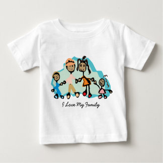I Love My Family for Kids Baby T-Shirt