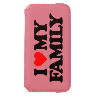 I LOVE MY FAMILY iPhone 6/6S WALLET CASE